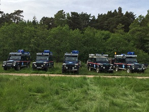 Land Rover Experience Winching Course