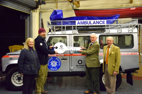 St John Scotland Continued Support for AMRT